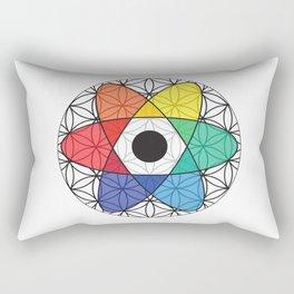 Flower of Science Rectangular Pillow