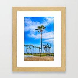 V for Venice Framed Art Print