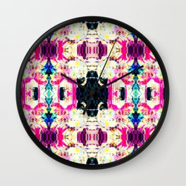 Digital interpretation rococo Wall Clock