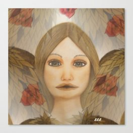 Dreaming with an Angel Canvas Print