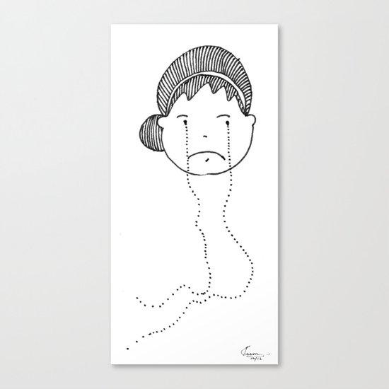 I am Sad Canvas Print