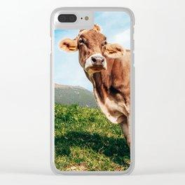 Swiss Swiss, B*tch   Switzerland Clear iPhone Case