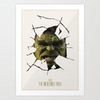 hulk Art Prints featuring Hulk by s2lart
