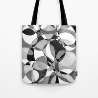 doodle Tote Bags featuring Doodle by DeMoose_Art
