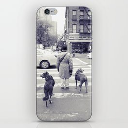 don't walkies... iPhone Skin