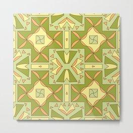 seamless pattern for ceramics Metal Print