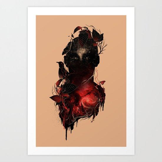 Universe Inside Art Print