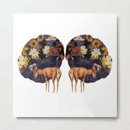 Double deer Metal Print