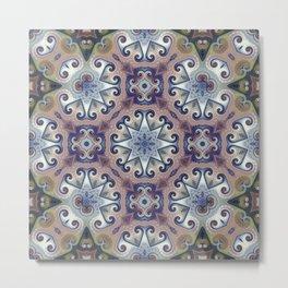 Migraine Bloom Metal Print