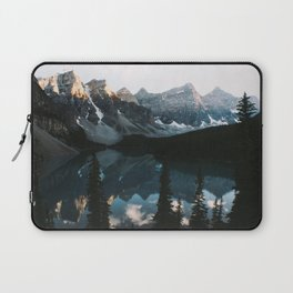 Moraine Lake Sunset Laptop Sleeve