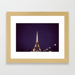 Eiffel Tower - Paris Framed Art Print