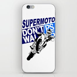 Supemoto iPhone Skin