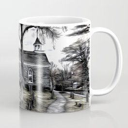 Sleepy Hollow Church Art Coffee Mug