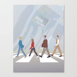 Inception Road Canvas Print