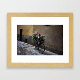 Fiets. Florence. Framed Art Print
