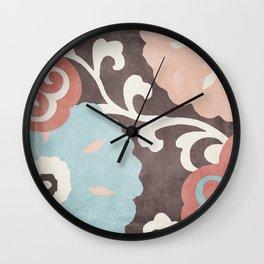 Umbrella Skies II Wall Clock