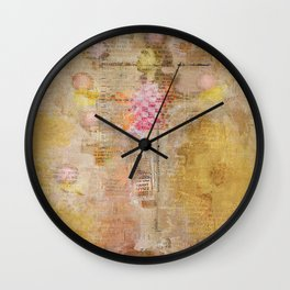 the juggler Wall Clock