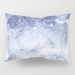 Even mountains get cold Pillow Sham