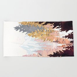 Wine Forest Beach Towel