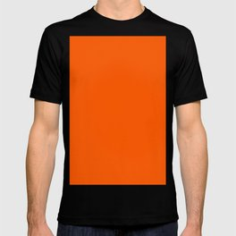 Willpower orange T-shirt