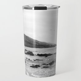 Malibu California Coastline - Leo Carrillo State Park Travel Mug