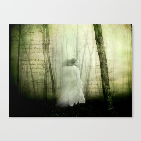 Haunted story Canvas Print