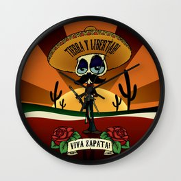 Viva Zapata! Wall Clock
