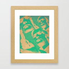 Get Carter (Green) Framed Art Print