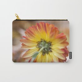 Chrysanthemum Underside Carry-All Pouch