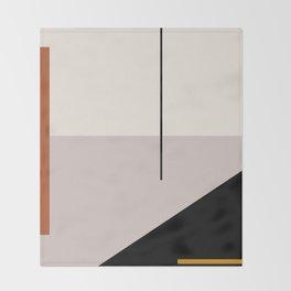 abstract minimal 28 Throw Blanket