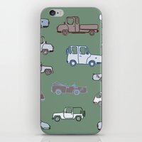 cars iPhone & iPod Skins featuring Cars  by Nadezhda Alkimovich