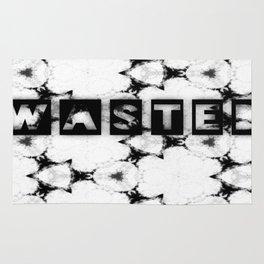 WASTEDTIME Rug