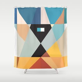 Deconstruct Ned Kelly Shower Curtain