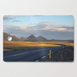 The Lonely Road Cutting Board