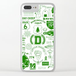 Dartmouth Massachusetts Print Clear iPhone Case