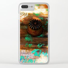 American Picnic Clear iPhone Case