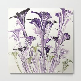 Lilac flower Metal Print