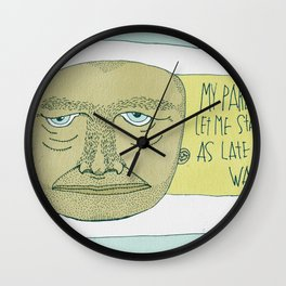 One Lucky Dude Wall Clock