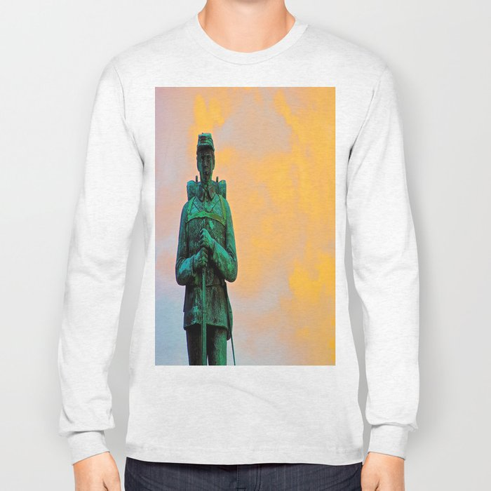 A Soldier's Sunset Long Sleeve T-shirt