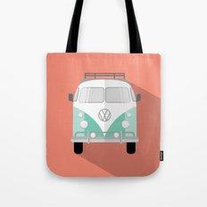 Retro Bus Tote Bag