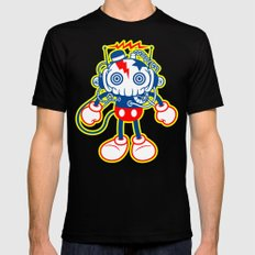 skull bolt X-LARGE Mens Fitted Tee Black