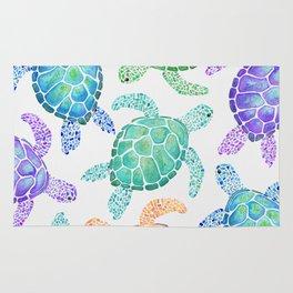 Sea Turtle - Colour Rug
