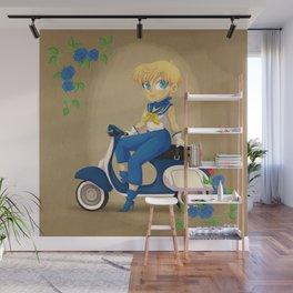 Retro Sailor Uranus Wall Mural