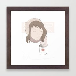 Its Cold Outside Framed Art Print