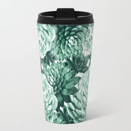 Succulents Pattern #1 #GreenVibes #decor #art #society6 Travel Mug