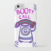 booty iPhone & iPod Cases featuring ((( BOOTY CALL ))) by FABIO MIGGIANO_H13