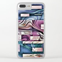 Pieces of My Heart Clear iPhone Case