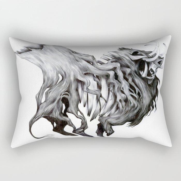 A Forest's Death Rectangular Pillow