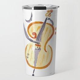Double bass clef Travel Mug