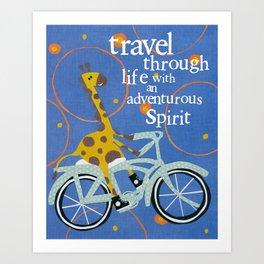 Travel Through Life Art Print